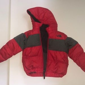 Red North Face Jacket